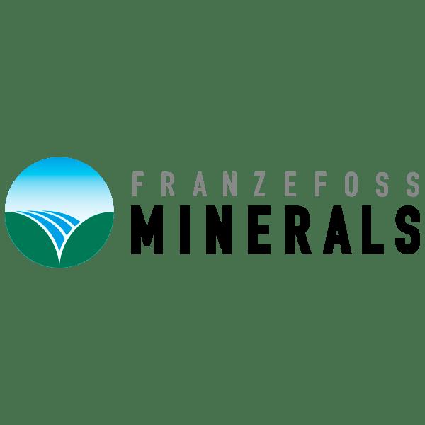 Logo for samarbeidspartner: Franzefoss Minerals